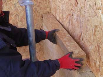 外壁付加200mm厚まで一発施工