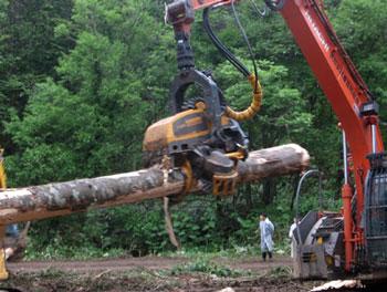 ニセコ・倶知安エリアの視察に行ってきました その1.機械化林業