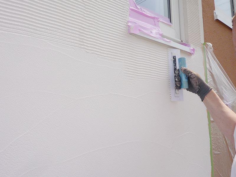 塗り壁仕上げ同様に、多彩なテクスチャー(模様)を付けられるのも大きな特徴
