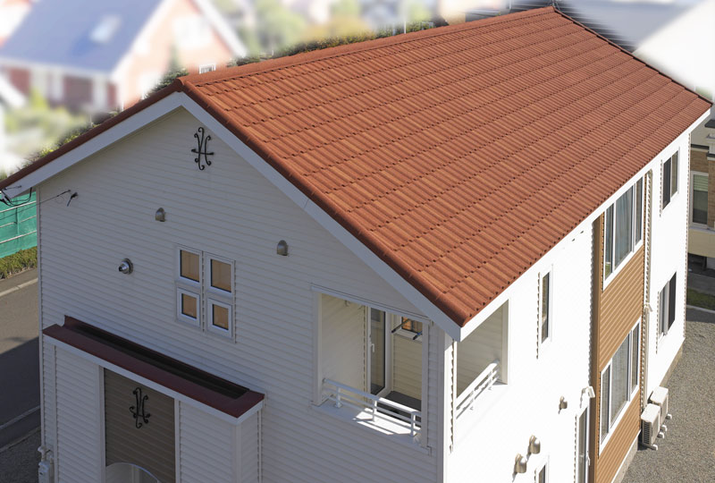大きな屋根だから、「魅せる屋根」にこだわりたい 大きな屋根だから、「魅せる屋根」にこだわりたい